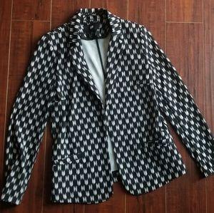 H & M patterned blazer
